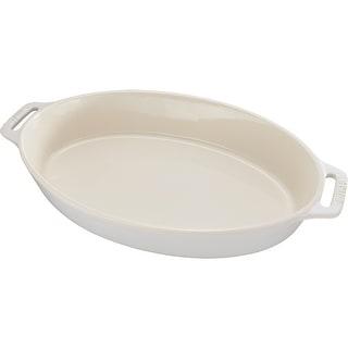 Staub Ceramic 6.5-inch Oval Baking Dish