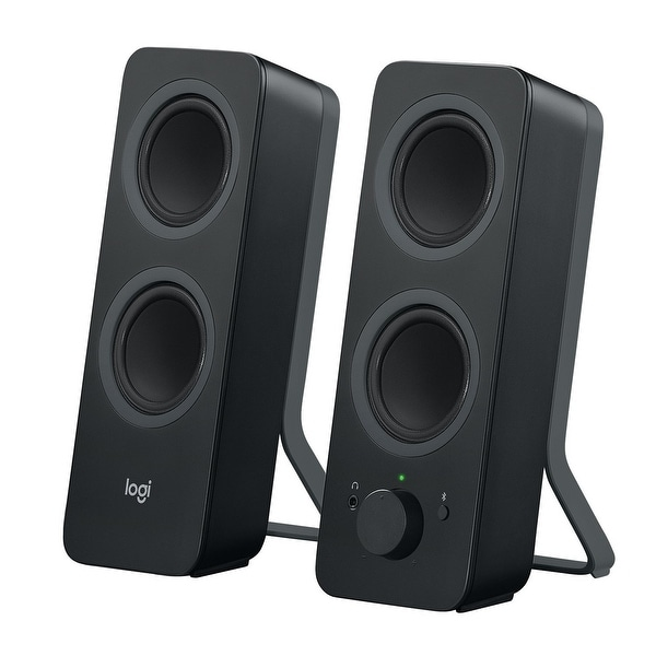 Logitech - Z207 Stereo Speakers With Bluetooth(Blk)