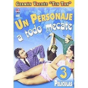 Personaje a Todo Mecate [DVD]