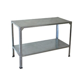 Link to Palram Galvanized Steel Free-standing Greenhouse Work Bench Similar Items in Yard Care