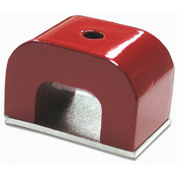 Master Magnetics 07271 Horseshoe Magnet, 3/16, Red