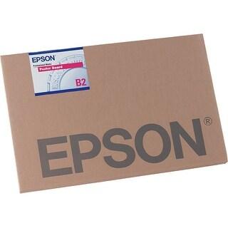 Epson Enhanced Matte 24 x 30 Poster Board, 10-Pieces (S041598)