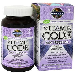 Vitamins supplements shop the best deals for jan 2017 for Garden of life vitamin code prenatal