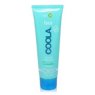 COOLA SPF 30 Cucumber Face Moisturizing Sunscreen 1.7 oz