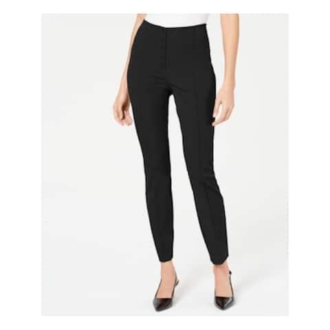 ALFANI Womens Black Wear to Work Pants Size 8