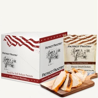Patriot Pantry Freeze-Dried Chicken Case Pack (24 servings, 6 pk.)