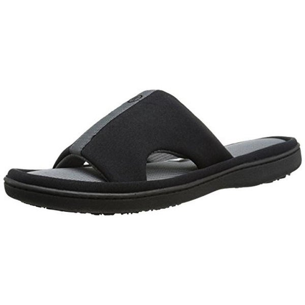 Isotoner Womens Slide Sandals Stretch Athletic - M