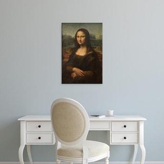 Easy Art Prints Leonardo da Vinci's 'Mona Lisa' Premium Canvas Art