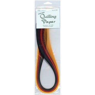"Quilling Paper .125"" 80/Pkg-Fall (8 Colors)"
