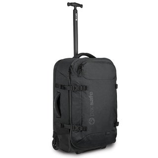 Pacsafe Toursafe AT25 - Anti-Theft 25 Wheeled Duffel w/ Book Style Opening