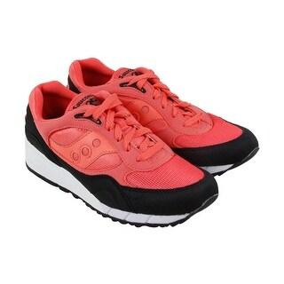 Saucony Shadow 6000 Mens Orange Blue Black Mesh & Suede Athletic Training Shoes