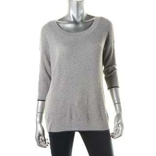 Soft Joie Womens Wool Blend 3/4 Sleeves Pullover Sweater - XS