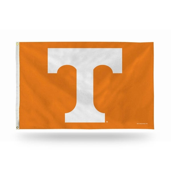 3' x 5' Orange and White College Tennessee Volunteers Rectangular Banner Flag - N/A