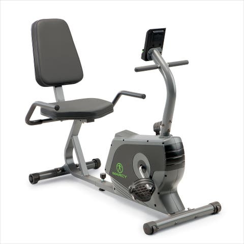 Marcy Recumbent Exercise Bike NS-1206R - N/A
