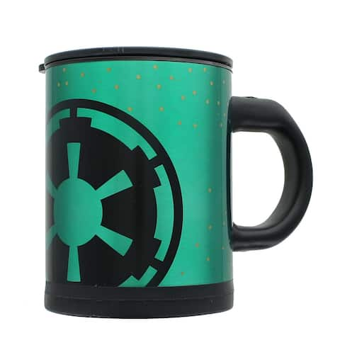 Star Wars Empire 12oz Stainless Steel Self-Stirring Mug - Green