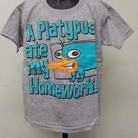 Phineas & Ferb Kid Kids Small S Size 6/7 Shirt 67Nv