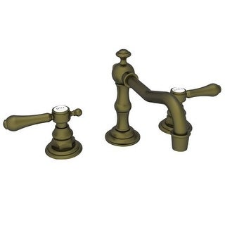 Newport Brass 1030 Double Handle Widespread Bathroom Faucet from the Chesterfield Collection