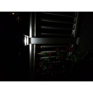 Shop 4x4 PVC Regal Solar Post Cap (Set of 2) - Free Shipping