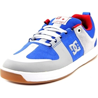 DC Shoes Lynx Prestige S Men Round Toe Suede Blue Skate Shoe