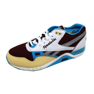 Reebok Men's ERS 2000 Maroon/Yellow-Blue-Steel 1-178950 Size 8