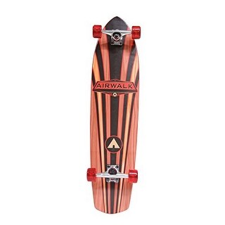 Airwalk Unisex Longboard Wood Grain