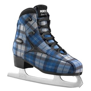 Roces Women's Logger Ice Skates Superior Italian Navy/Gray Plaid 450647 00001 (More options available)