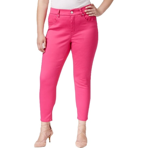 bb14a5e43ca Shop Melissa McCarthy Seven7 Womens Plus Pencil Pants Colored ...