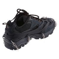 AGPtEK Ice Snow Grip Shoe Chains Anti Slip Overshoes Snow Shoes Crampons Cleats Size M