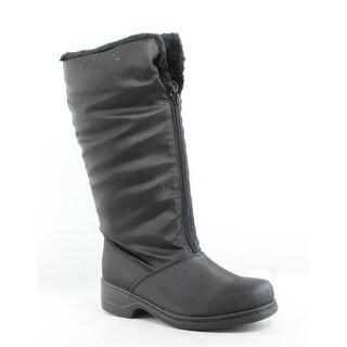 Tundra Womens Alice Black Snow Boots Size 6