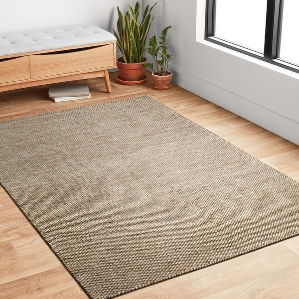 Alexander Home Hand-woven Cape Cod Wool/ Cotton Rug. Opens flyout.