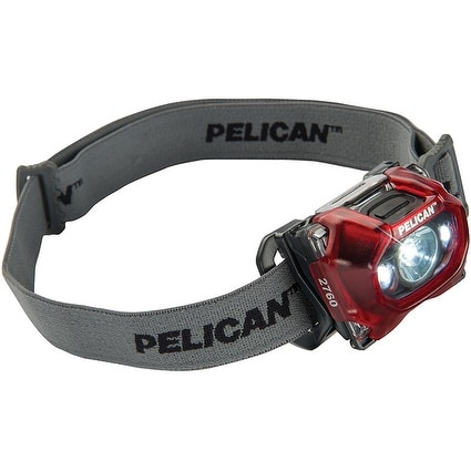 Pelican 027600-0101-170 Progear Led Headlight (Red)