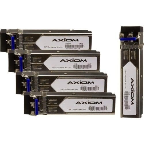 """""""Axion GLC-SX-MM-5PK Axiom SFP (mini-GBIC) Module - For Data Networking, Optical Network - 1 x 1000Base-SX - Optical Fiber - 128"""