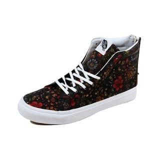 fbc0d48827 Vans Men s SK8 Hi Slim Zip Floral Leather Multi Color nan VN000XH8JR1