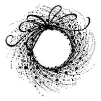 """Adornment - Penny Black Mounted Rubber Stamp 3.5""""X3.25"""""""