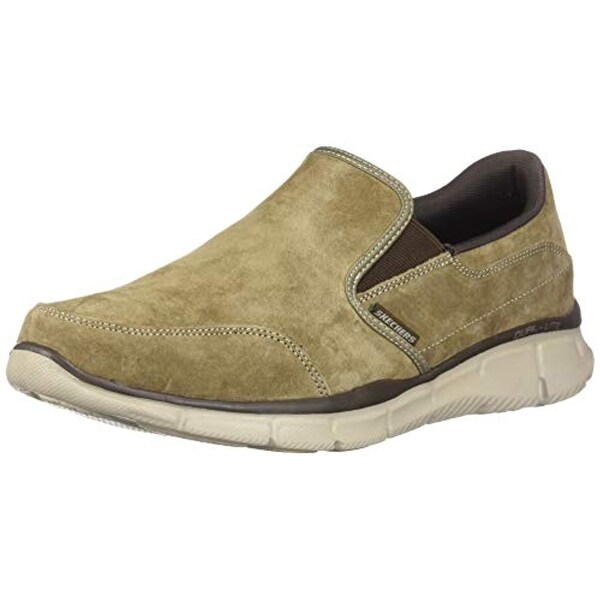Skechers Mens, Equalizer Mind Game Slip On Shoes Wide Width Brown 13 W 5262d6ac72
