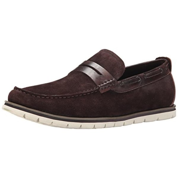 1c60ede80e1e Shop Kenneth Cole Reaction Mens By The bay Leather Boat Shoe Loafers ...