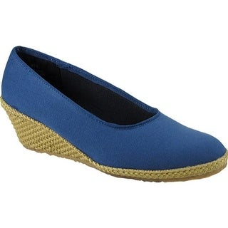Beacon Shoes Women's Newport Navy Canvas