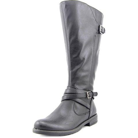 Bare Traps Womens Corrie Almond Toe Mid-Calf Fashion Boots
