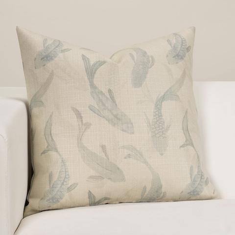 Koi Water Designer Throw Pillow