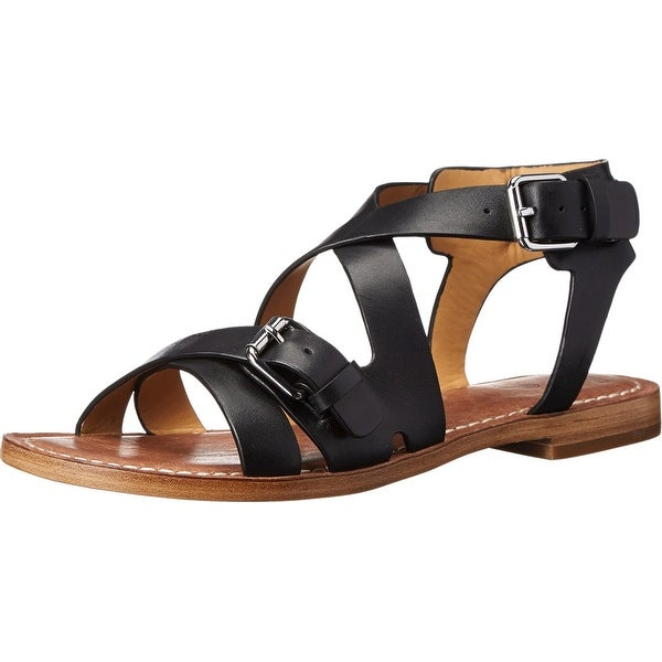 Belle Sigerson Morrison NEW Black Women's Shoes 6M Alamea Sandal