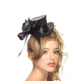 Womens Satin Top Hat for Sexy Halloween Costume