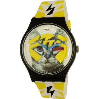 Swatch Men's Voice Of Freedom SUOB135 Multi Silicone Swiss Quartz Fashion Watch