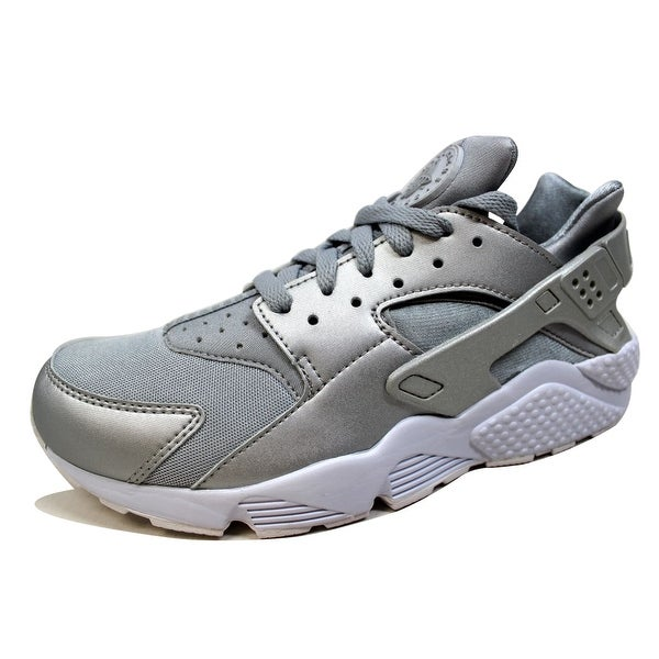 fe164c1bc012f ... Nike Menx27s Air Huarache Run Premium Metallic Silver 704830-008 Size  no sale tax c2e18 ...