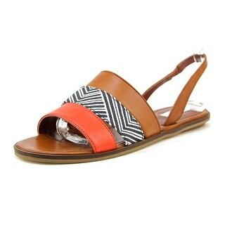 Cole Haan Anisa Sandal Open-Toe Leather Slingback Sandal