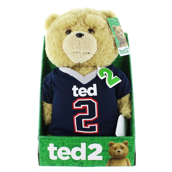 "Ted 2 11"" Talking Plush Ted In Football Jersey (Rated R) - multi"