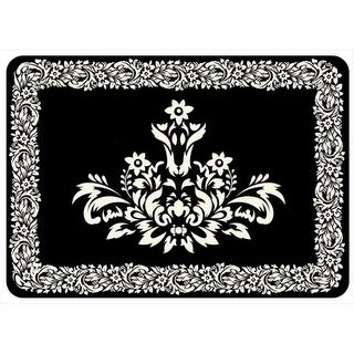 204911552231 Falcon Crest Mat in Onyx - 1.83 ft. x 2.58 ft.