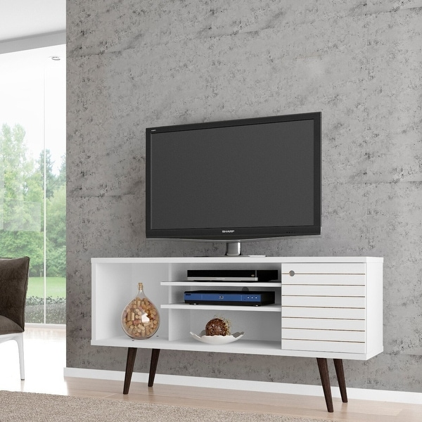 Manhattan Comfort Liberty 5-shelf TV Stand. Opens flyout.