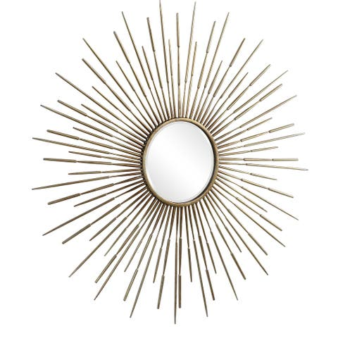 Uttermost Golden Rays Starburst Mirror