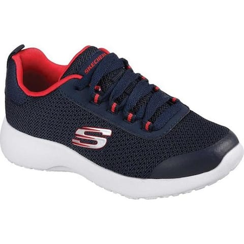 new product ef3d9 b6d1d Skechers Boys  Dynamight Turbo Dash Sneaker Navy Red