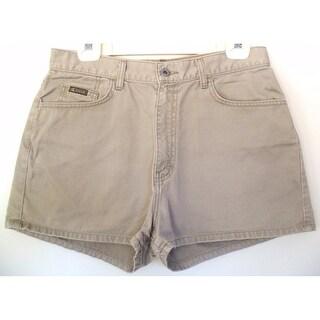 Women's Shorts Calvin Klein Khakis 11 - Cotton - Zip Front - Excellent